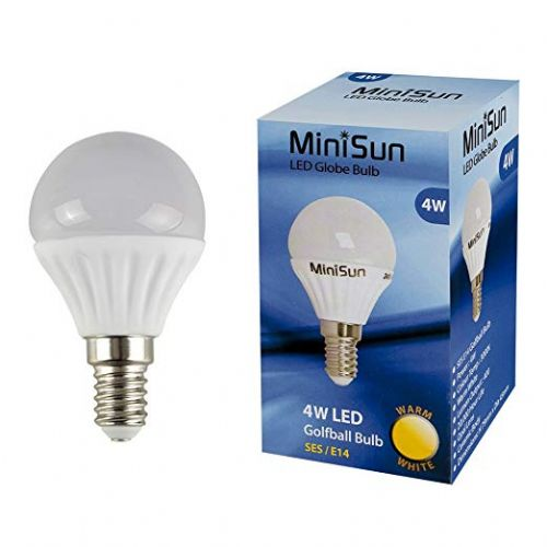 LED Golfball Lightbulb 4W SES Warm White (400 lumens) 807133